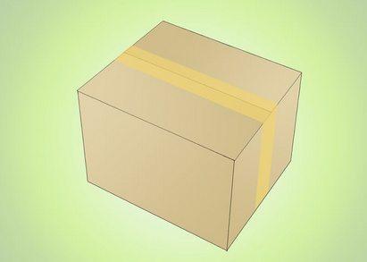 Zalepení balíku lepící páskou